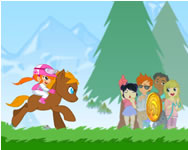 My pony my little race online